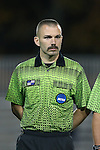 22 November 2013: Referee Chris Penso. The University of Florida Gators played the Duke University Blue Devils at Koskinen Stadium in Durham, NC in a 2013 NCAA Division I Women's Soccer Tournament Second Round match. Duke won the game 1-0.