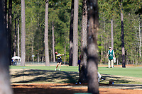 Andrea Lee (USA) on the 1st during the second round of the Augusta National Womans Amateur 2019, Champions Retreat, Augusta, Georgia, USA. 04/04/2019.<br /> Picture Fran Caffrey / Golffile.ie<br /> <br /> All photo usage must carry mandatory copyright credit (&copy; Golffile | Fran Caffrey)