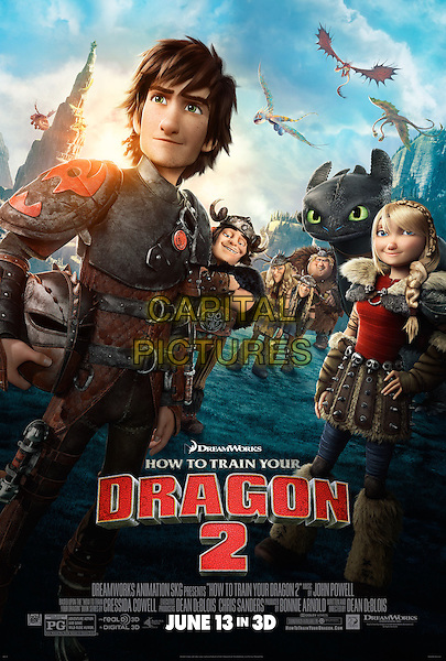 POSTER ART<br /> in How to Train Your Dragon 2 (2014) <br /> *Filmstill - Editorial Use Only*<br /> CAP/FB<br /> Image supplied by Capital Pictures