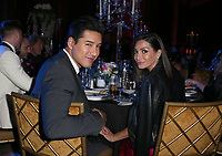 LOS ANGELES, CA - NOVEMBER 9: Mario Lopez, Courtney Laine Mazza, at the 2nd Annual Vanderpump Dog Foundation Gala at the Taglyan Cultural Complex in Los Angeles, California on November 9, 2017. Credit: November 9, 2017. <br /> CAP/MPI/FS<br /> &copy;FS/MPI/Capital Pictures