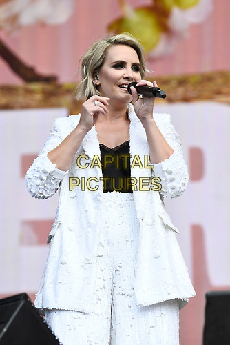 LONDON, ENGLAND - JULY 5: Claire Richards performing at British Summertime on July 5, 2019 in London, England.<br /> CAP/MAR<br /> ©MAR/Capital Pictures