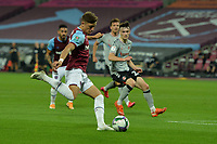 Harrison Ashby of West Ham United shoots during West Ham United vs Charlton Athletic, Caraboa Cup Football at The London Stadium on 15th September 2020