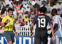 Referee. US Men's National Team Under 17 defeated Malawi 1-0 in the second game of the FIFA 2009 Under-17 World Cup at Sani Abacha Stadium in Kano, Nigeria on October 29, 2009.