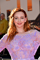 """LOS ANGELES, USA. July 23, 2019: Natasha Bassett at the premiere of """"Once Upon A Time In Hollywood"""" at the TCL Chinese Theatre.<br /> Picture: Paul Smith/Featureflash"""