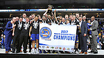SIOUX FALLS, SD: MARCH 7: South Dakota State defeated Omaha to win the Men's Summit League Basketball Championship Game on March 7, 2017 at the Denny Sanford Premier Center in Sioux Falls, SD. (Photo by Dave Eggen/Inertia)