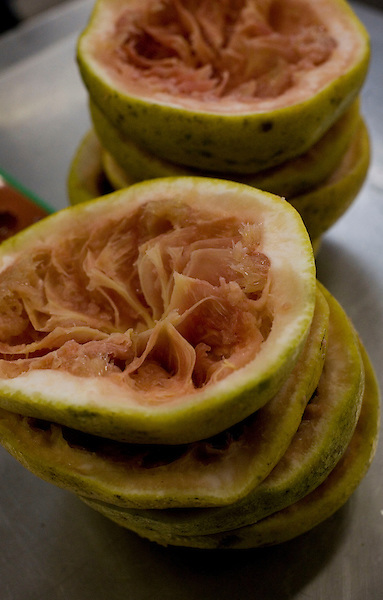 Belo Horizonte_MG, Brasil...Festival Gastronomico Sabor e Saber, na foto detalhe de laranja...The Gastronomic Festival Sabor e Saber, in this photo some oranges...Foto: BRUNO MAGALHAES / NITRO