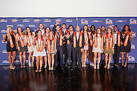 SAN ANTONIO, TX - MAY 2, 2016: The University of Texas at San Antonio Roadrunners hold their Annual Athletics Banquet at the Palladium. (Photo by Jeff Huehn)