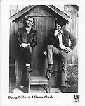 Doug Dillard and Gene Clark..promo photo from Photofeatures archives