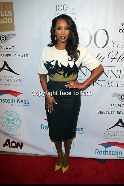 BEVERLY HILLS, CA - February 05: Vivica A. Fox at Experience East Meets West honoring Beverly Hills' momentous centennial year, Crustacean, Beverly Hills, February 05, 2014.<br /> Credit: MediaPunch/face to face<br /> - Germany, Austria, Switzerland, Eastern Europe, Australia, UK, USA, Taiwan, Singapore, China, Malaysia, Thailand, Sweden, Estonia, Latvia and Lithuania rights only -