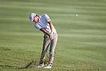 Jason Scrivener of Australia plays an approach shot during the 58th UBS Hong Kong Golf Open as part of the European Tour on 10 December 2016, at the Hong Kong Golf Club, Fanling, Hong Kong, China. Photo by Vivek Prakash / Power Sport Images
