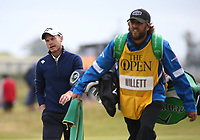Danny Willett (ENG) during Round One of the 148th Open Championship, Royal Portrush Golf Club, Portrush, Antrim, Northern Ireland. 18/07/2019. Picture David Lloyd / Golffile.ie<br /> <br /> All photo usage must carry mandatory copyright credit (© Golffile | David Lloyd)