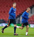 Klaus Jan Huntelaar and Wesley Sneijder