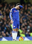 Chelsea's Eden Hazard looks on dejected after Bournemouth's opening goal<br /> <br /> Barclays Premier League - Chelsea v AFC Bournemouth - Stamford Bridge - England - 5th December 2015 - Picture David Klein/Sportimage