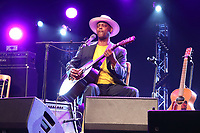 Eric Bibb performs at the Cambridge Folk Festival 2018, Cherry Hinton Hall, Cambridge, England, UK on 3rd and 4th August 2018.<br /> CAP/ROS<br /> &copy;ROS/Capital Pictures