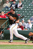 Rochester Red Wings Josh Rabe during an International League game at Frontier Field on June 4, 2006 in Rochester, New York.  (Mike Janes/Four Seam Images)