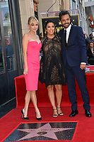 Anna Faris, Eva Longoria &amp; Eugenio Derbez at the Hollywood Walk of Fame Star Ceremony honoring actress Eva Longoria, Los Angeles, USA 16 April 2018<br /> Picture: Paul Smith/Featureflash/SilverHub 0208 004 5359 sales@silverhubmedia.com