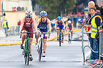 08/05/2016 - Elite Women race, 2016 Cagliari ITU Triathlon World Cup -