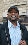 Darnell Williams outside the All My Children Studios, New York City, New York. (Photo by Sue Coflin/Max Photos)