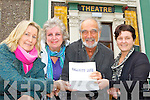 Kenmare Musical Society who will be casting for this year's musical 'Calamity Jane' shortly which they will be performing in Carnegie theatre, Kenmare l-r: Eileen Ryan, Marie and Pat Wiltshire and Claire Bunbury (theatre manager) ..