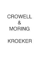 Crowell & Moring KROEKER