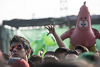CIUDAD DE MEXICO, D.F. 21 Noviembre.- Benjamin Brooker durante el festival Corona Capital 2015 en el Autodromo Hermanos Rodríguez de la Ciudad de México, el 21 de noviembre de 2015.  FOTO: ALEJANDRO MELENDEZ