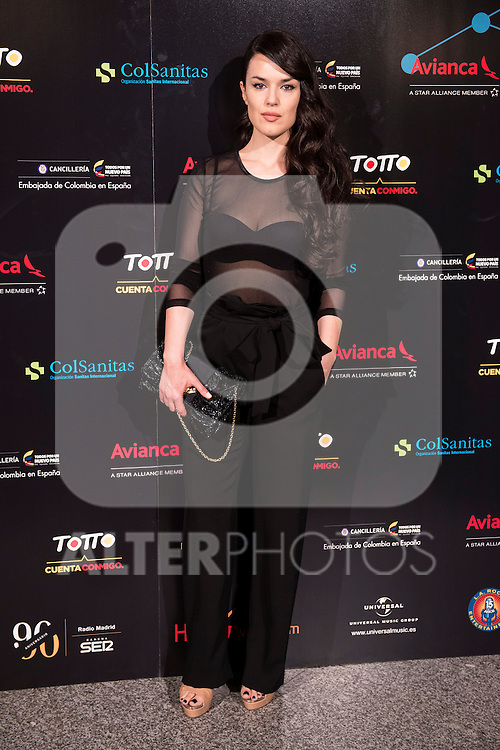 XXX attends the photocall before the concert of colombian singer Juanes in Royal Theater in Madrid, Spain. July 23, 2015.<br />  (ALTERPHOTOS/BorjaB.Hojas)