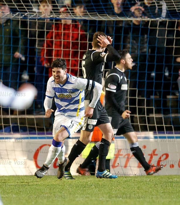 Thomas O'Ware heads Morton level