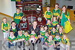 Kerry Captain Colm Cooper meets some of his fans in Ahern's Garage Castleisland on Tuesday