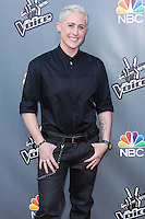 "UNIVERSAL CITY, CA, USA - APRIL 15: Kristen Merlin at NBC's ""The Voice"" Season 6 Top 12 Red Carpet Event held at Universal CityWalk on April 15, 2014 in Universal City, California, United States. (Photo by Xavier Collin/Celebrity Monitor)"