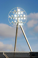 Floodlights at an English Football Stadium