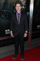 "HOLLYWOOD, LOS ANGELES, CA, USA - APRIL 03: Garrett Ryan at the Los Angeles Screening Of Relativity Media's ""Oculus"" held at TCL Chinese 6 Theatre on April 3, 2014 in Hollywood, Los Angeles, California, United States. (Photo by Xavier Collin/Celebrity Monitor)"