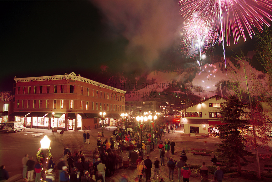 World Cup celebration in Aspen, CO© Michael Brands. 970-379-1885.