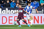CD Leganes's  Unai Bustinza (R) and RC Celta de Vigo's Okay Yokuslu during La Liga match 2019/2020 round 16<br /> December 8, 2019. <br /> (ALTERPHOTOS/David Jar)