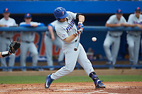 Jonathan India (6) of the Florida Gators at bat against the Wake Forest Demon Deacons in the completion of Game Two of the Gainesville Super Regional of the 2017 College World Series at Alfred McKethan Stadium at Perry Field on June 12, 2017 in Gainesville, Florida. The Demon Deacons walked off the Gators 8-6 in 11 innings. (Brian Westerholt/Four Seam Images)