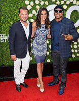 Chris O'Donnell, Daniela Ruah &amp; LL Cool J at CBS TV's Summer Soiree at CBS TV Studios, Studio City, CA, USA 01 Aug. 2017<br /> Picture: Paul Smith/Featureflash/SilverHub 0208 004 5359 sales@silverhubmedia.com