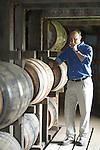 Master Distiller  Greg Davis of 1792 Ridgemont Reserve Bourbon at the Tom Moore Distillery in Bardstown, Ky.