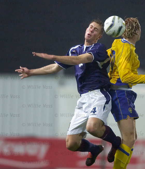 Steven Whittaker, Scotland u21.stock season 2004-2005.pic willie vass