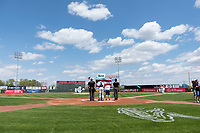 The Cedar Rapids Kernels play host to the Dayton Dragons during a Midwest League game at Perfect Game Field on May 5, 2019 in Cedar Rapids, Iowa. Cedar Rapids defeated Dayton 4-0. (Zachary Lucy/Four Seam Images)