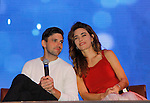 Joyce Becker's Soap Opera Festival brings actors from Young and Restless - Amelia Heinle, Robert Adamson on September 26, 2015 to Caesers Horseshoe Casino in Baltimore, Maryland for a Q&A with fans with a drawing for lucky fans to meet the actors for autographs and photos.  (Photo by Sue Coflin/Max Photos)