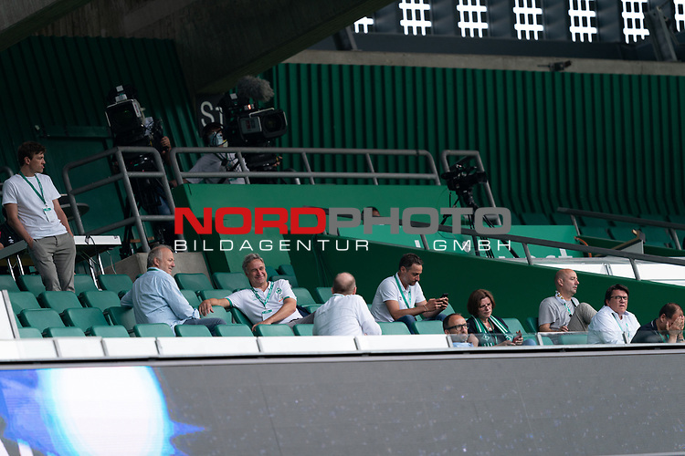 Sport: nphgm001: Fussball: 1. Bundesliga: Saison 19/20: 34. Spieltag: SV Werder Bremen vs 1.FC Koeln  27.06.2020<br /> <br /> Foto: gumzmedia/nordphoto/POOL <br /> <br /> DFL regulations prohibit any use of photographs as image sequences and/or quasi-video.<br /> EDITORIAL USE ONLY<br /> National and international News-Agencies OUT.