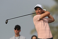Ross Fisher (ENG) on the 9th tee during Round 2 of the Omega Dubai Desert Classic, Emirates Golf Club, Dubai,  United Arab Emirates. 25/01/2019<br /> Picture: Golffile | Thos Caffrey<br /> <br /> <br /> All photo usage must carry mandatory copyright credit (© Golffile | Thos Caffrey)
