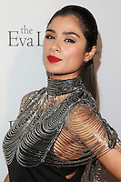 HOLLYWOOD, LOS ANGELES, CA, USA - OCTOBER 09: Diana Guerrero arrives at the Eva Longoria Foundation Dinner held at Beso Restaurant on October 9, 2014 in Hollywood, Los Angeles, California, United States. (Photo by David Acosta/Celebrity Monitor)