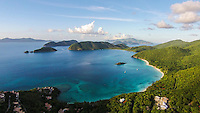 View of Cinnamon Bay<br />
