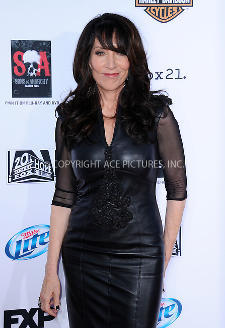 WWW.ACEPIXS.COM<br /> <br /> September 7 2013, LA<br /> <br /> Katey Sagal arriving at the 'Sons Of Anarchy' Season 6 premiere screening at Dolby Theatre on September 7, 2013 in Hollywood, California. <br /> <br /> <br /> By Line: Peter West/ACE Pictures<br /> <br /> <br /> ACE Pictures, Inc.<br /> tel: 646 769 0430<br /> Email: info@acepixs.com<br /> www.acepixs.com