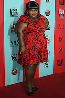 HOLLYWOOD, LOS ANGELES, CA, USA - OCTOBER 05: Gabourey Sidibe arrives at the Los Angeles Premiere Screening Of FX's 'American Horror Story: Freak Show' held at the TCL Chinese Theatre on October 5, 2014 in Hollywood, Los Angeles, California, United States. (Photo by Celebrity Monitor)
