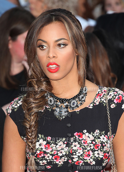 Rochelle Wiseman at the UK Premiere of 'One Direction, This Is Us' at the Empire Leicester Square, London. 20/08/2013 Picture by: Alexandra Glen / Featureflash