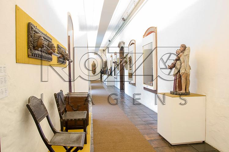 Acervo do Museu de Arte Sacra de São Paulo, São Paulo - SP, 02/2013.