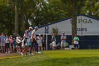 Cameron Smith (USA) heads down 9 during 4th round of the 100th PGA Championship at Bellerive Country Club, St. Louis, Missouri. 8/12/2018.<br /> Picture: Golffile   Ken Murray<br /> <br /> All photo usage must carry mandatory copyright credit (© Golffile   Ken Murray)