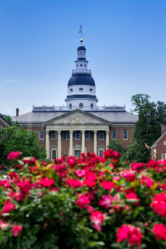 State House, Annapolis, Maryland, USA