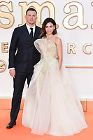 Channing Tatum and wife, Jenna Dewan<br /> arriving for the &quot;Kingsman: The Golden Circle&quot; World premiere at the Odeon and Cineworld Leicester Square, London<br /> <br /> <br /> &copy;Ash Knotek  D3309  18/09/2017